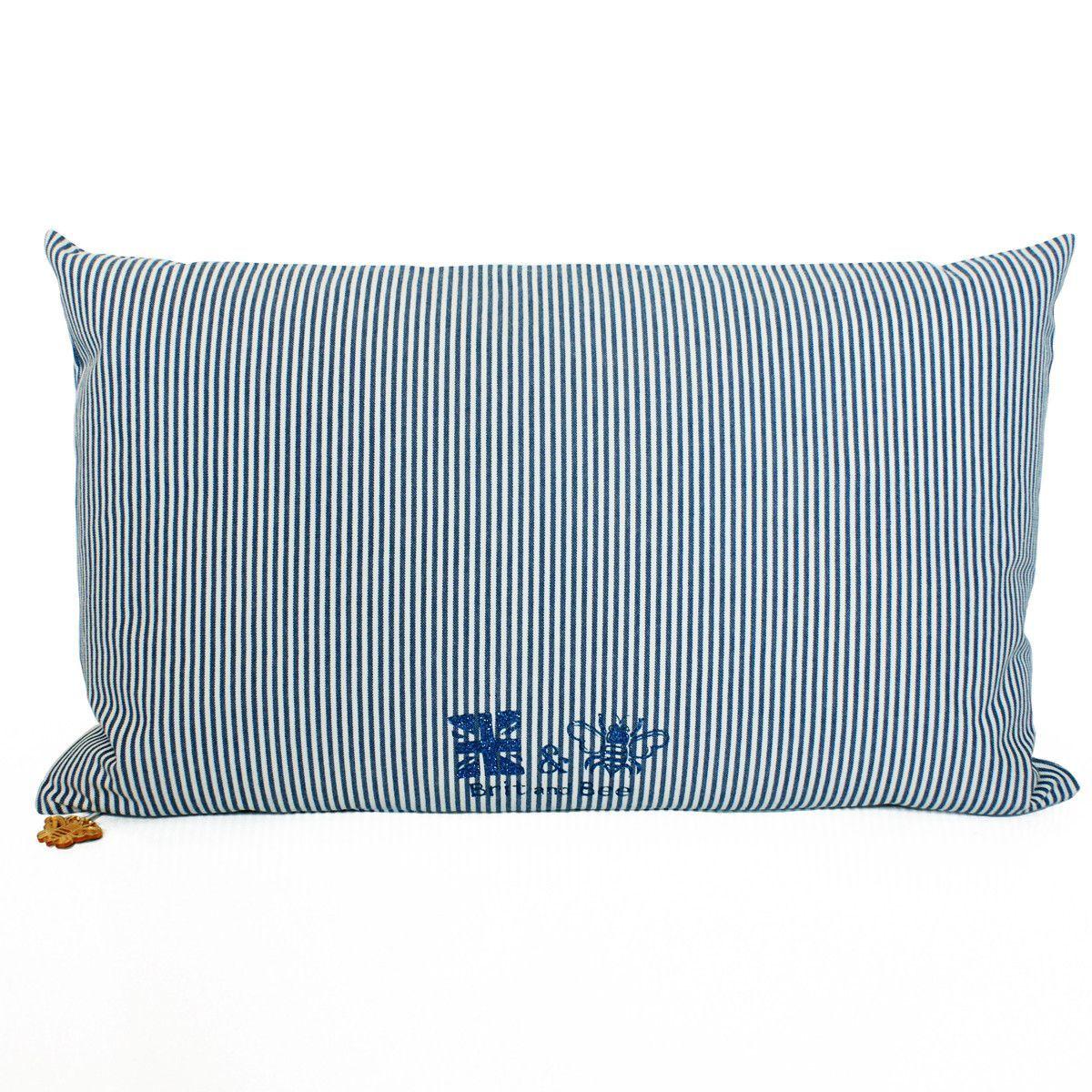 Alpha delta pi throw pillow sorority glitter ticking stripe