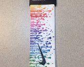 best service 8ebc8 e1e97 Custom Multi. Color Droplets Nike Dri-Fit Head Tie Headband - Black, White,  Yellow, Pink, Green, Blue, Purple, Orange - Multi. Sport   Yoga