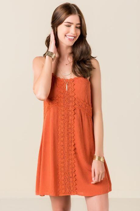 Leah Crochet Shift Dress $44.00