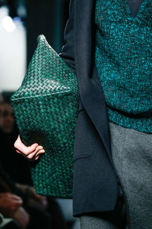 Green and different textures