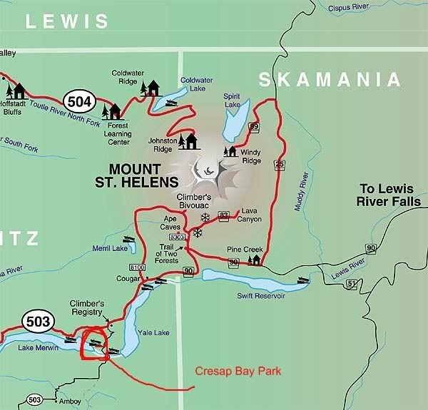 Cresap Bay Campground Sw Wa Bike Camping Campgrounds