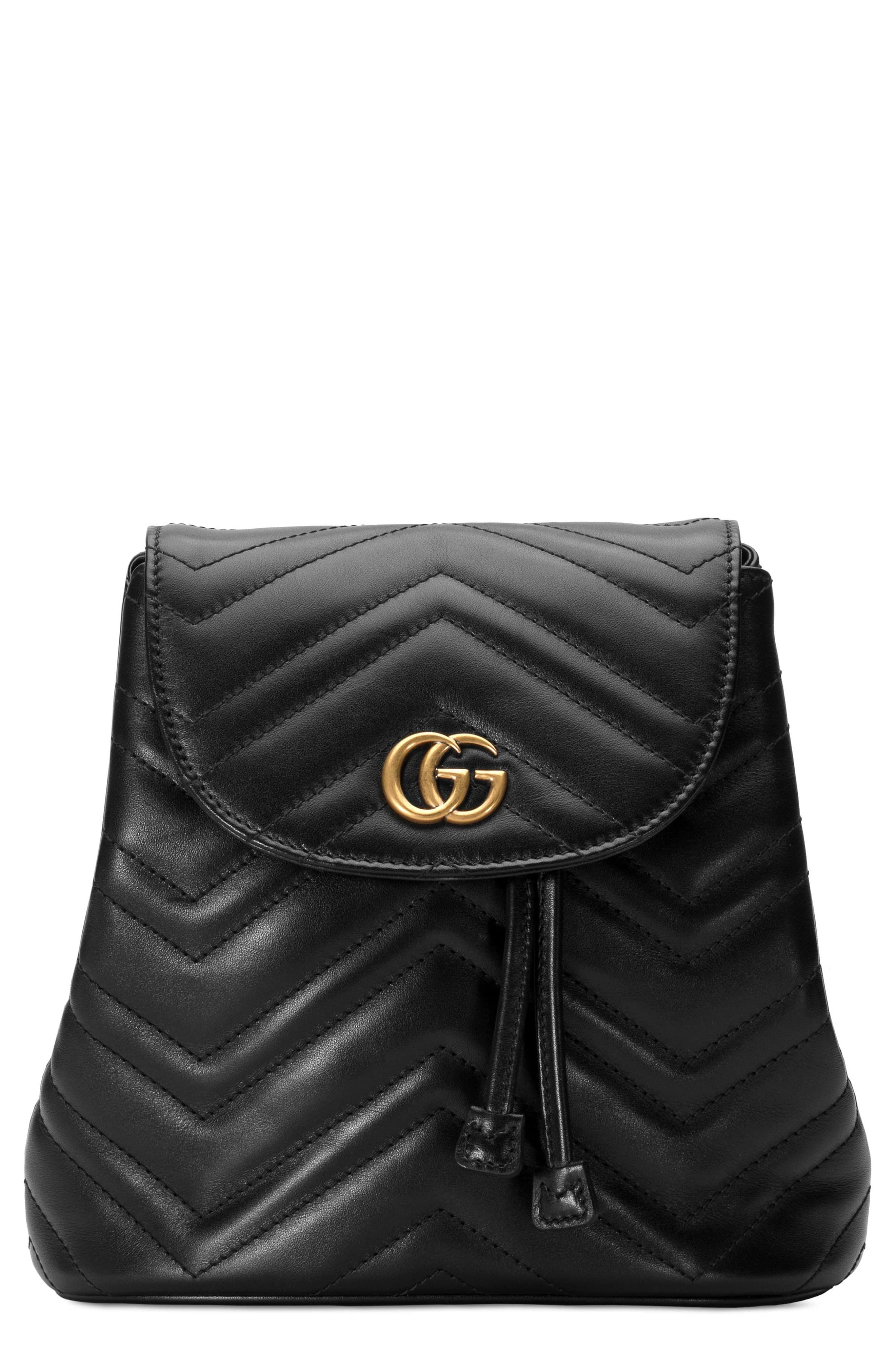 6603770a4 Gucci Gg Marmont 2.0 Matelassé Leather Mini Backpack - White in 2019 ...