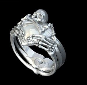 Skull Claddagh Ring This Is The Most Unique Badass Claddagh