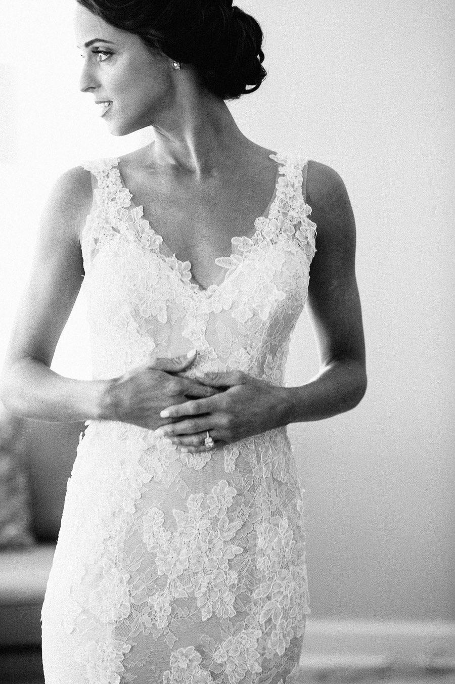 Beautifully organic florida wedding from still photography dress