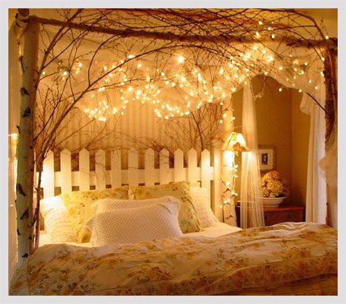 romantic bedroom decorating