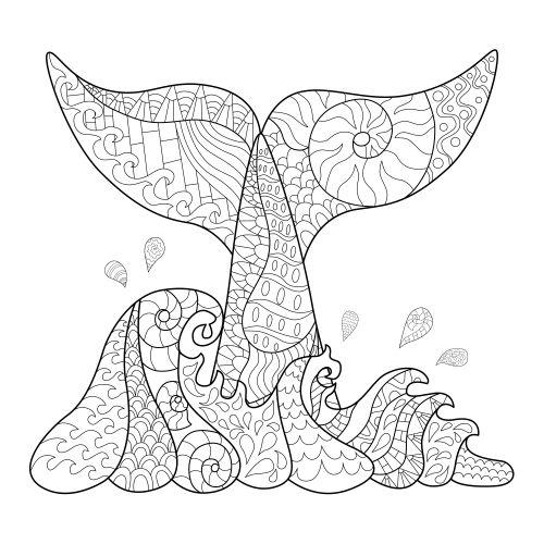 Me Time Calm As Ocean Free Kidspressmagazine Com Whale Coloring Pages Coloring Pages Anti Stress Coloring Book