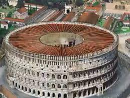 Flavian Amphitheater Velarium Ancient Architecture