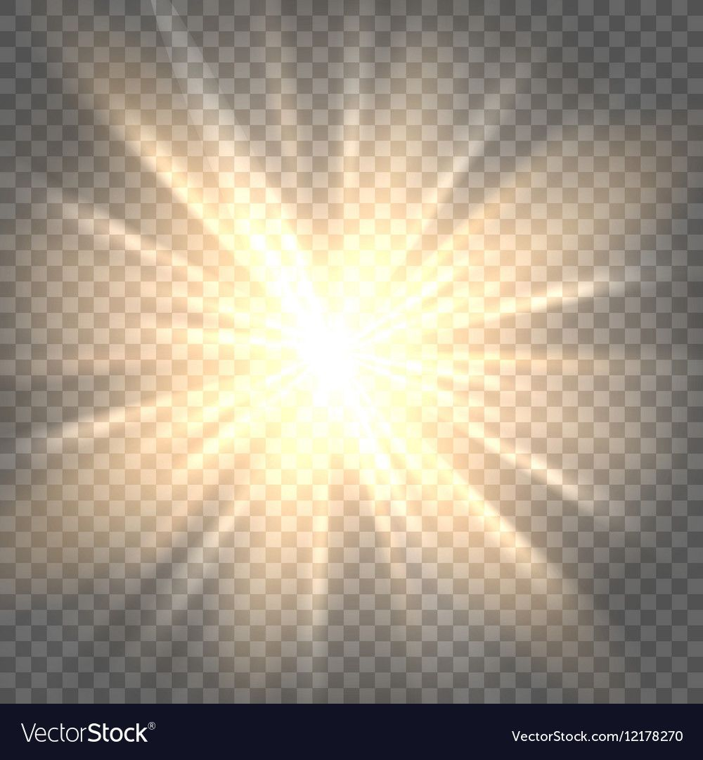 Sunburst Icon Sun Rays On Transparent Background Vector Illustration Download A Free Preview Or High Qual Sun Rays Transparent Background Textured Background