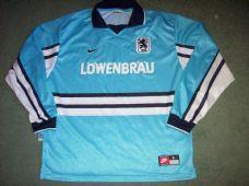 1997 1998 1860 Munich Home L/s Football Shirt Adults Large Trikot Germany