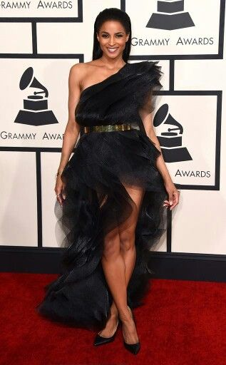 Ciara in Alexandre Vauthier at the #Grammys