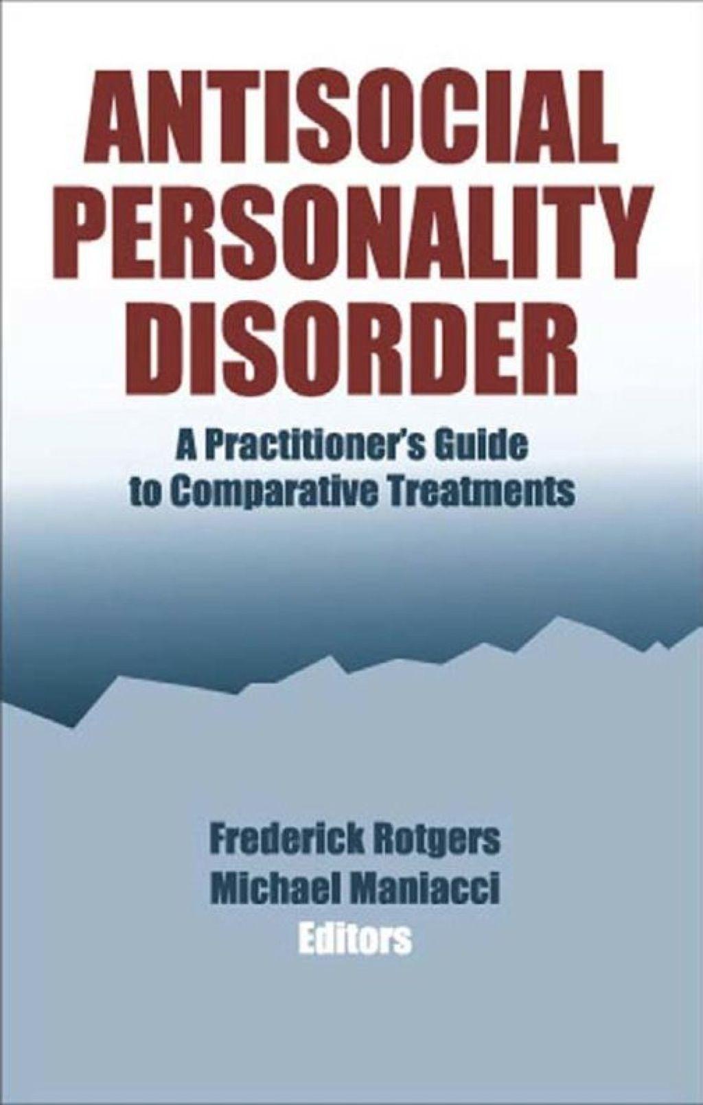 Antisocial Personality Disorder Ebook Rental