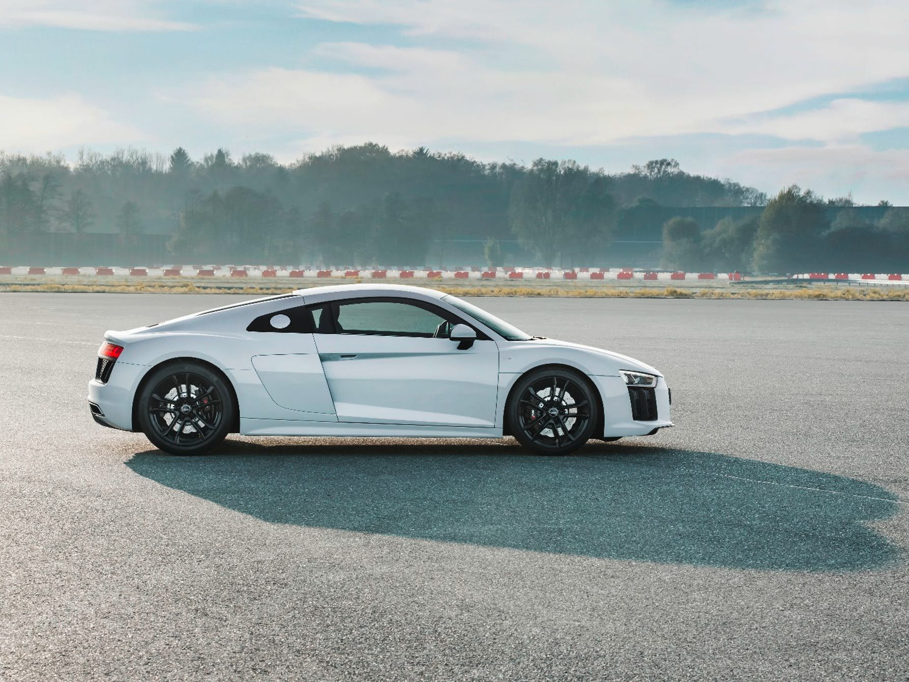 The v10 in the audi r8 v10 rws is hooked up to the rear wheels exclusively