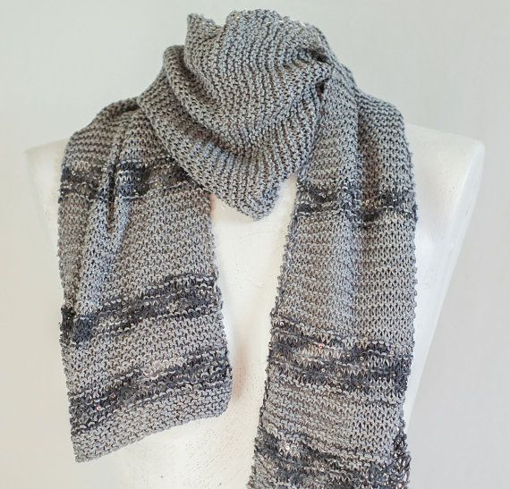 Reginas Timeless Knits    ***READY TO SHIP****    Welcome to my shop.      100% Artyarns Hand dyed silk, with lines of Beaded Pearl and