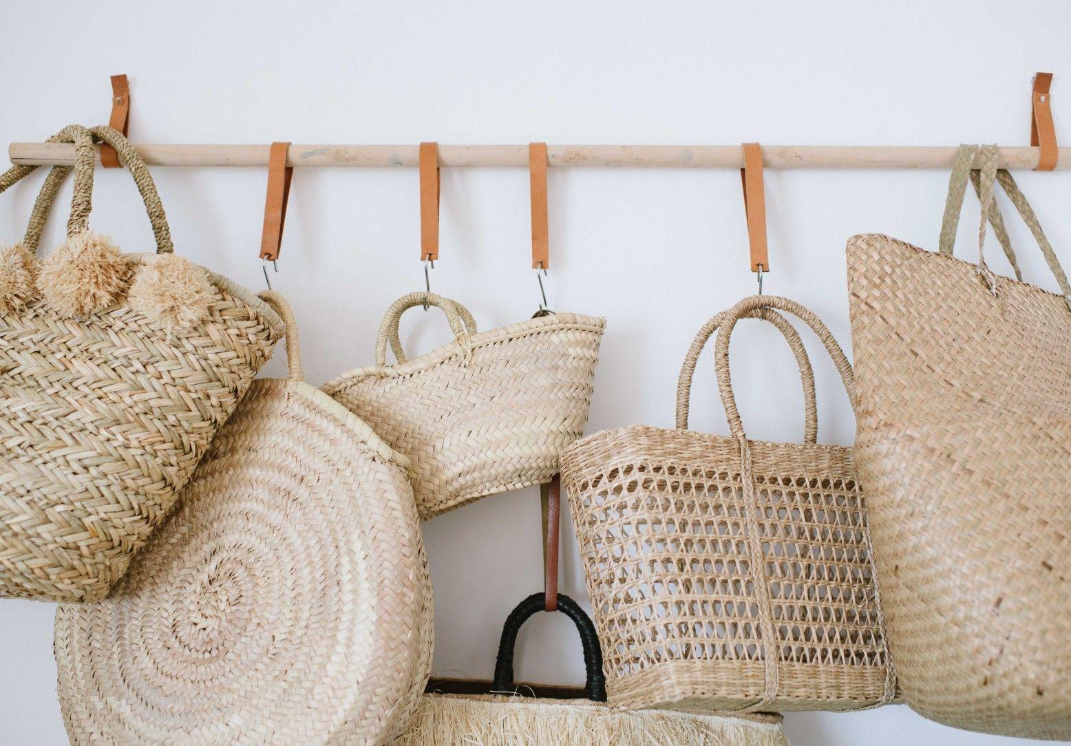 DIY Hanging Bag Rack