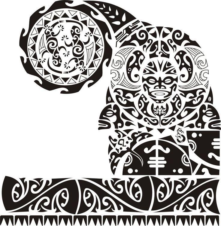 Samoan Tatau Drawings