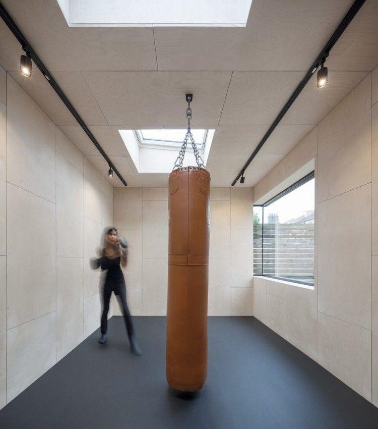 Salle de sport maison, découvrez la métamorphose spectaculaire du0027une - puit de lumiere maison
