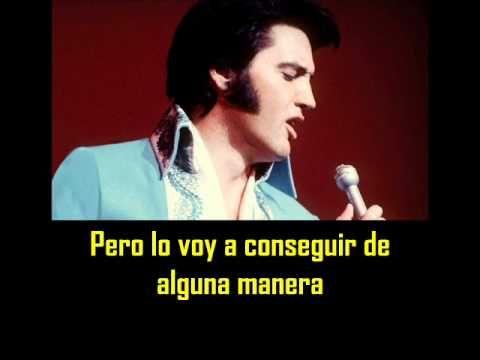 ELVIS PRESLEY -  It´s only love ( con subtitulos en español ) BEST SOUND