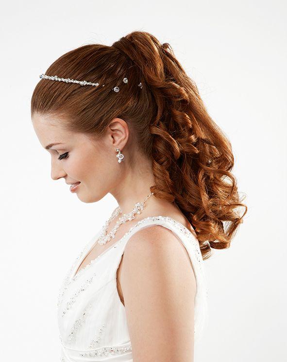 55 Frisuren Halboffen Beauty Styling Braut Bräutigam