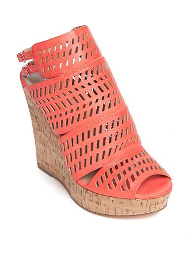 Charles By Charles David Apt Cutout Wedge Sandals Ankle Strap Sandals Heels Platform Sandals Heels Ankle Strap Wedges