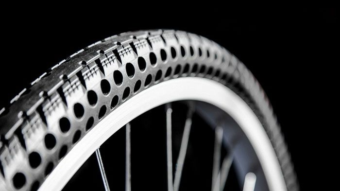 New Airless Bike Tires That Will Never Get Flat With Images