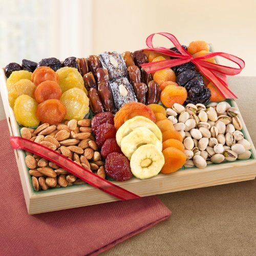 Pacific Coast Deluxe Dried Fruit Tray with Nuts Golden State Fruit,http://www.amazon.com  $36.95