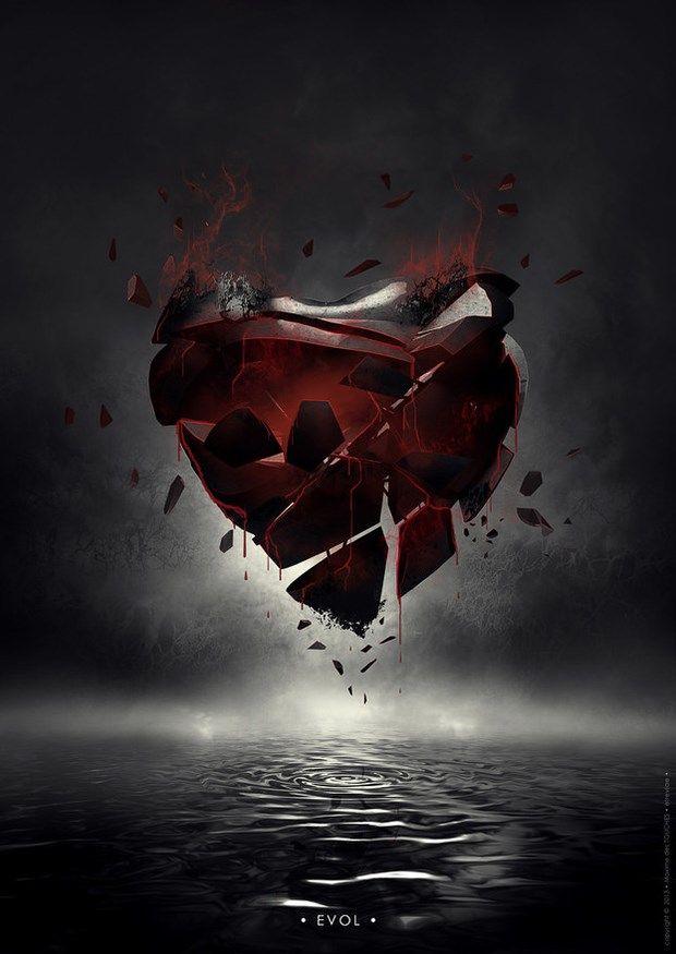 Mending Heart Broken Heart Art Broken Heart Wallpaper Broken Heart Tattoo