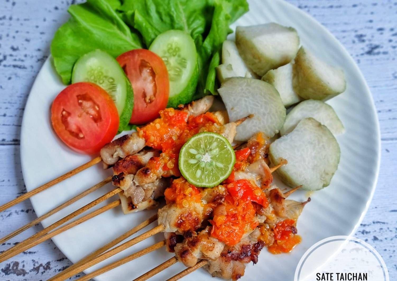 Resep Sate Taichan Oleh Susi Agung Resep Makanan Sehat Resep Resep Masakan