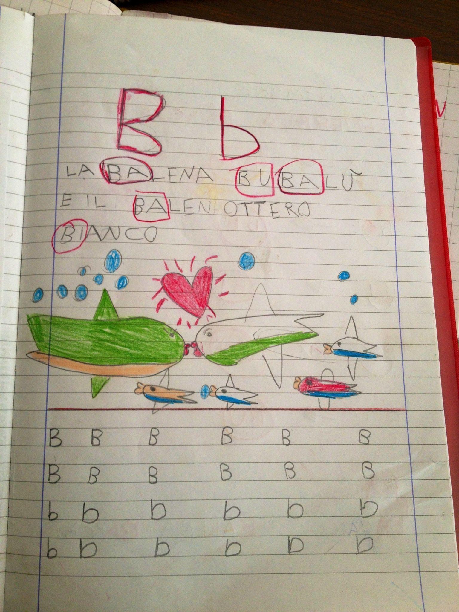 La Consonante B Per Bambini Scuola Primaria