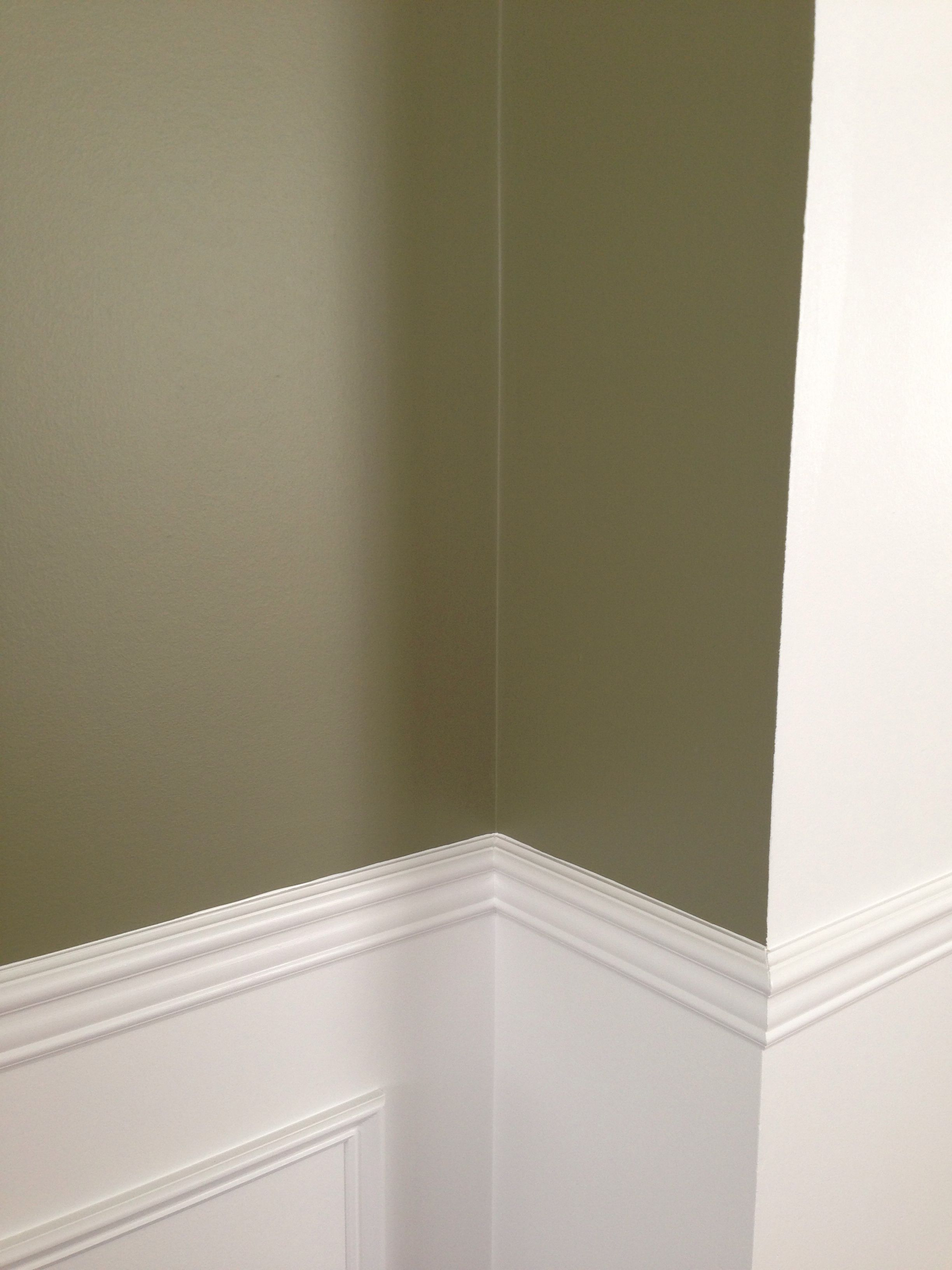 Benjamin Moore Wethersfield Moss Paint A Grayish Green That Goes With Red And Yellow Gold