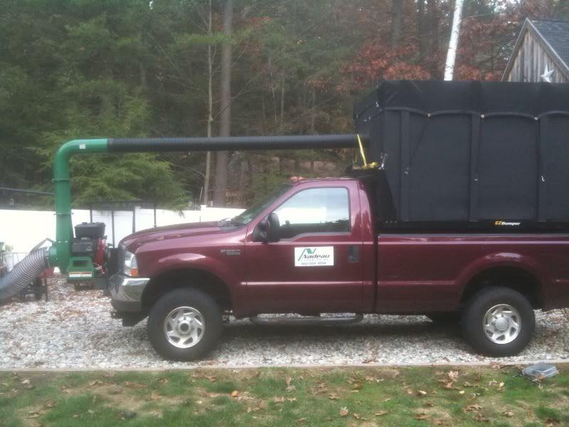leaf box for dump truck