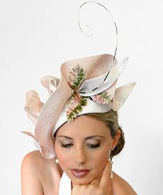9f9459db1 Fashion hat Cinderella by Melbourne milliner Louise Macdonald ...