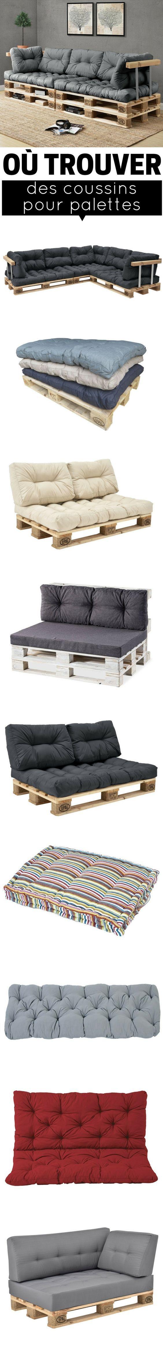 coussin pour palette o trouver des coussins pour meubles en palette meuble. Black Bedroom Furniture Sets. Home Design Ideas