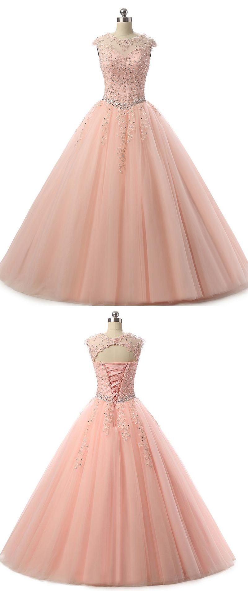 Siaoryne Pl6500 Best Rose Gold Prom Dress Lace Ball Gown Quinceaneras For Girls Sweet Sixteen Dresses Rose Gold Prom Dress Quinceanera Dresses Gold Gold Prom Dresses [ 1903 x 800 Pixel ]