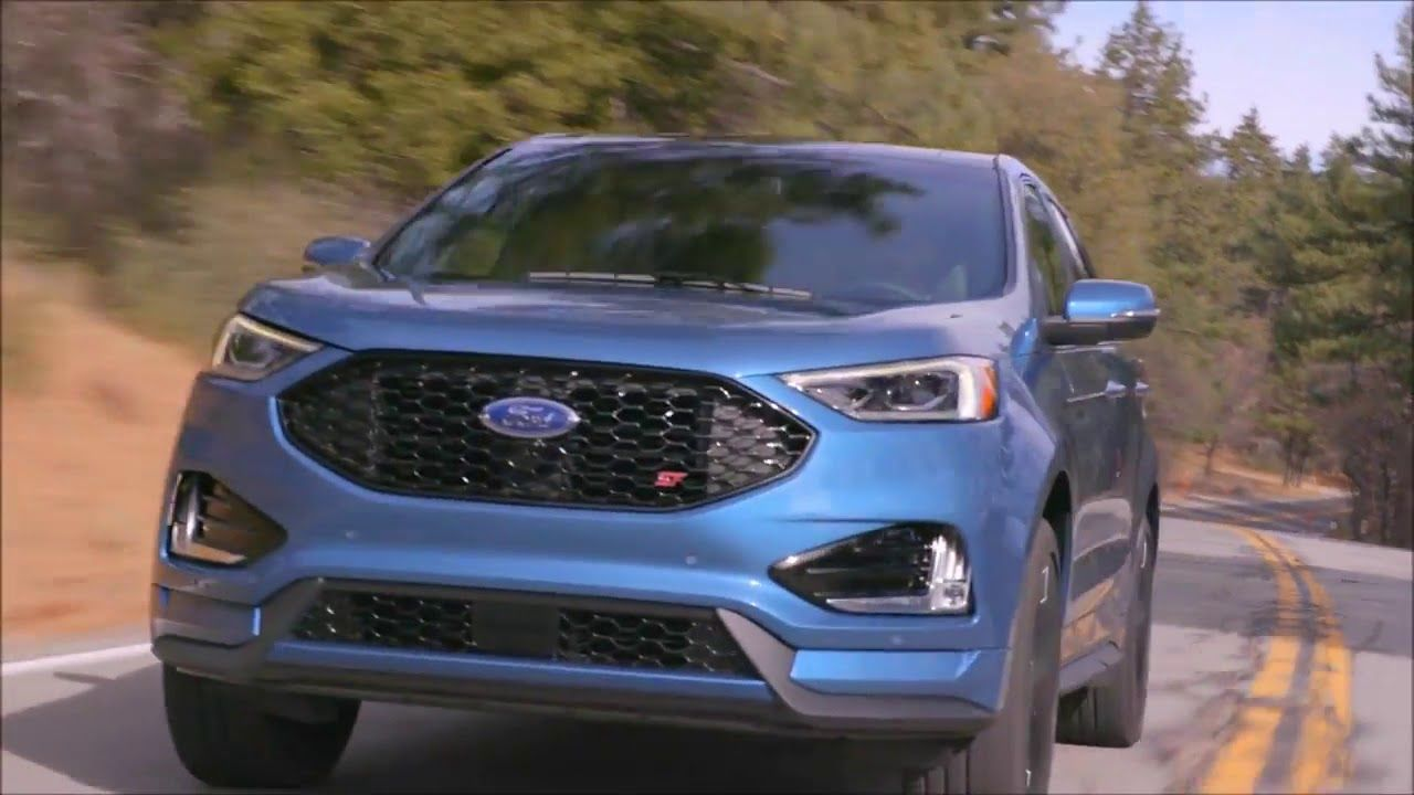 NEW 2018 FORD EDGE ST V6 2 7 335 HP l FORD PERFORMANCE