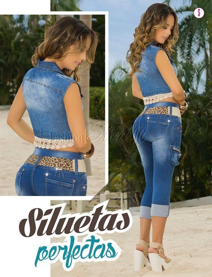 Jeans Dama Mujer Levantacola Blusas Vestidos Zapato Chaqueta $ 69990.0