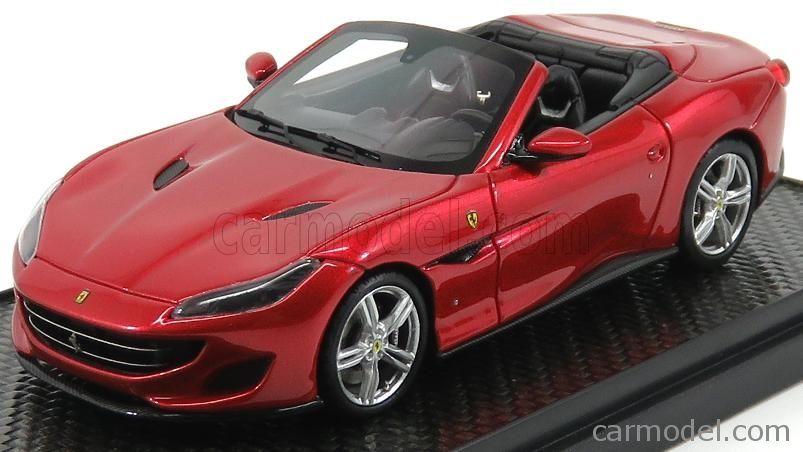 Bbr Models Bbrc207a Scale 1 43 Ferrari Portofino Cabriolet Open 2017 Rosso Portofino Red Met Ferrari Convertible Ferrari Cabriolets