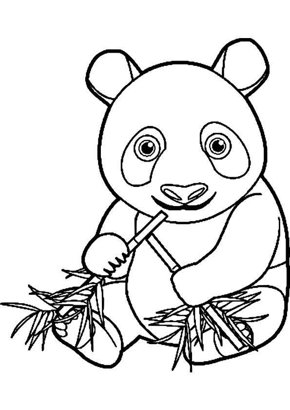 Pandas chine - Coloriage a imprimer kung fu panda ...