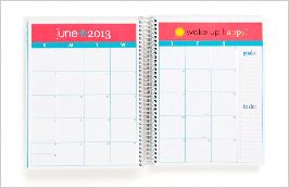 A personalized day planner!  LOVE!