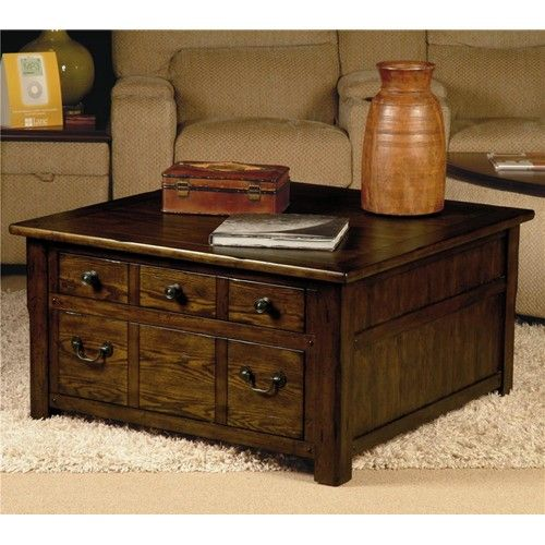 Great Grand Junction Square Chest Cocktail Table With Drawer Storage From Lane  Furniture #LivingRoom #furniture