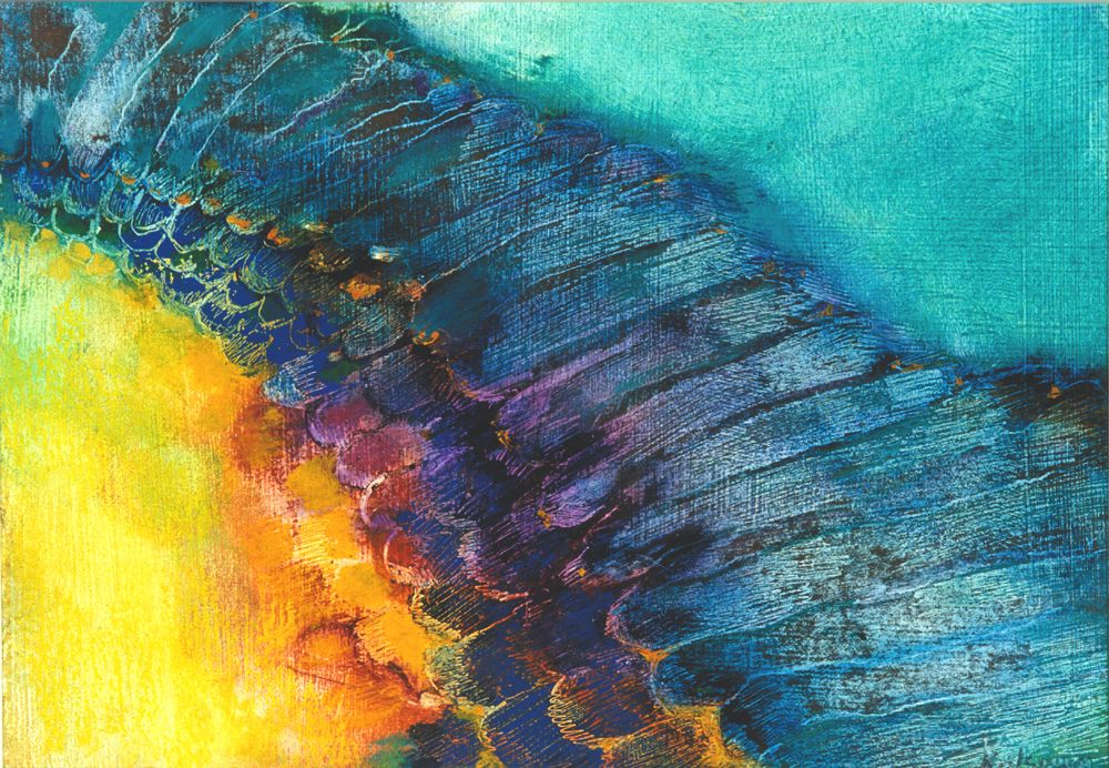Angel Wing Ladder An image which can be used in meditation to restore faith and renew strength