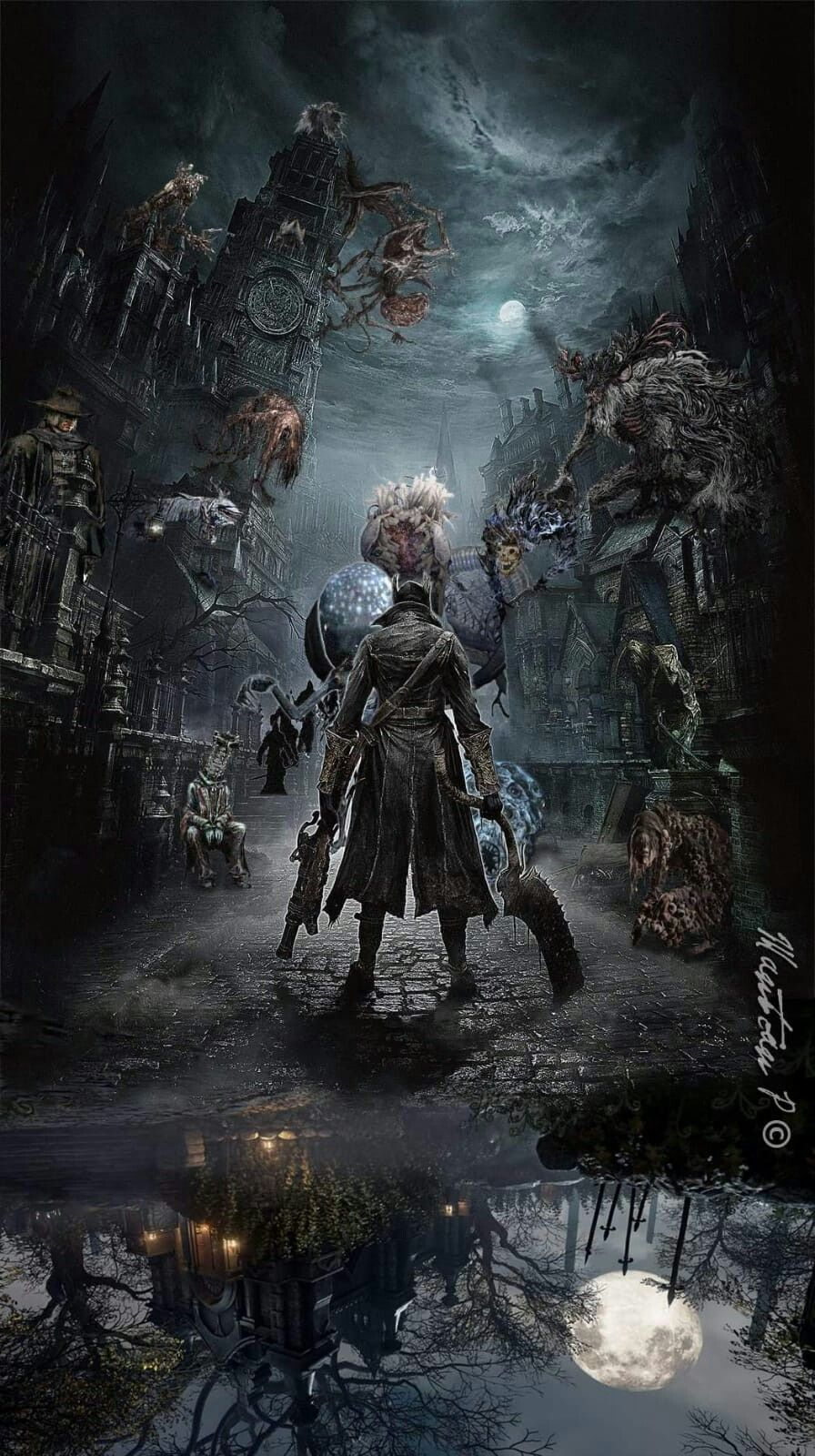 Well Shit Bloodborne Art Bloodborne Concept Art Dark Souls Art
