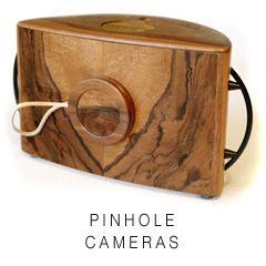 Pinhole cameras by Bryan Dahlberg [Photonbox]  El sitio tiene instructivos de su uso.