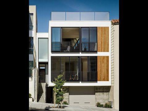 9 planos de casa de tres pisos independientes youtube for Fachadas modernas para casas de tres pisos
