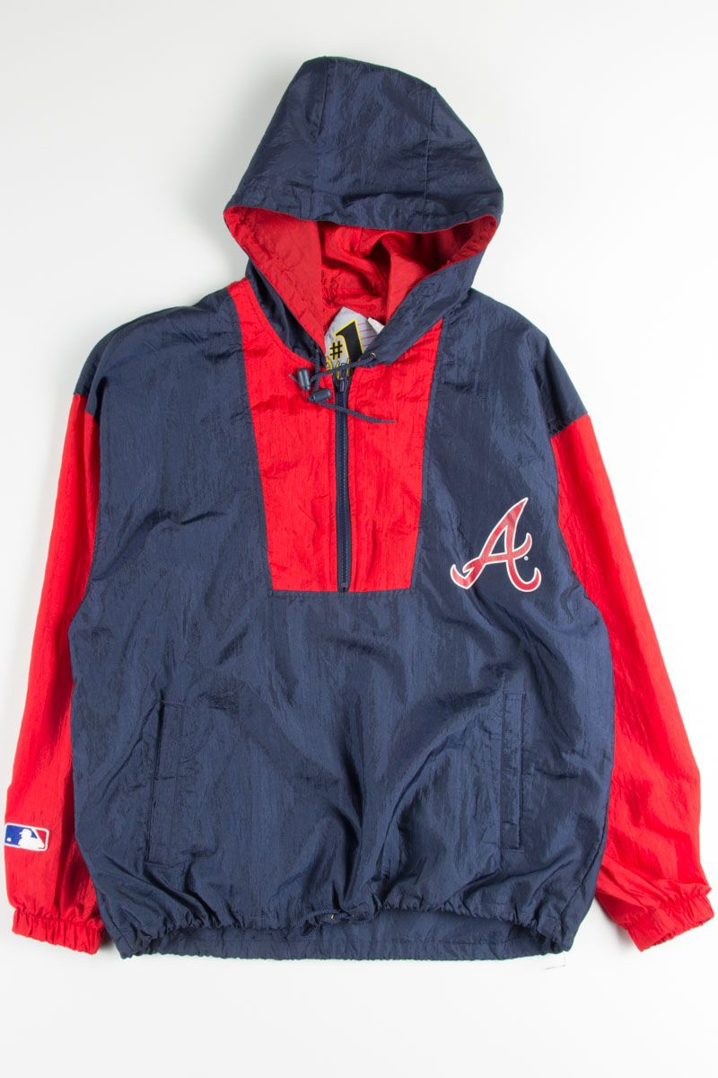 Atlanta Braves Starter Jacket Diamond Collection Satin Puffer Coat Mlb Team Gear Starter Atlantabraves Braves M Vintage Sportswear Team Jackets Mlb Jackets
