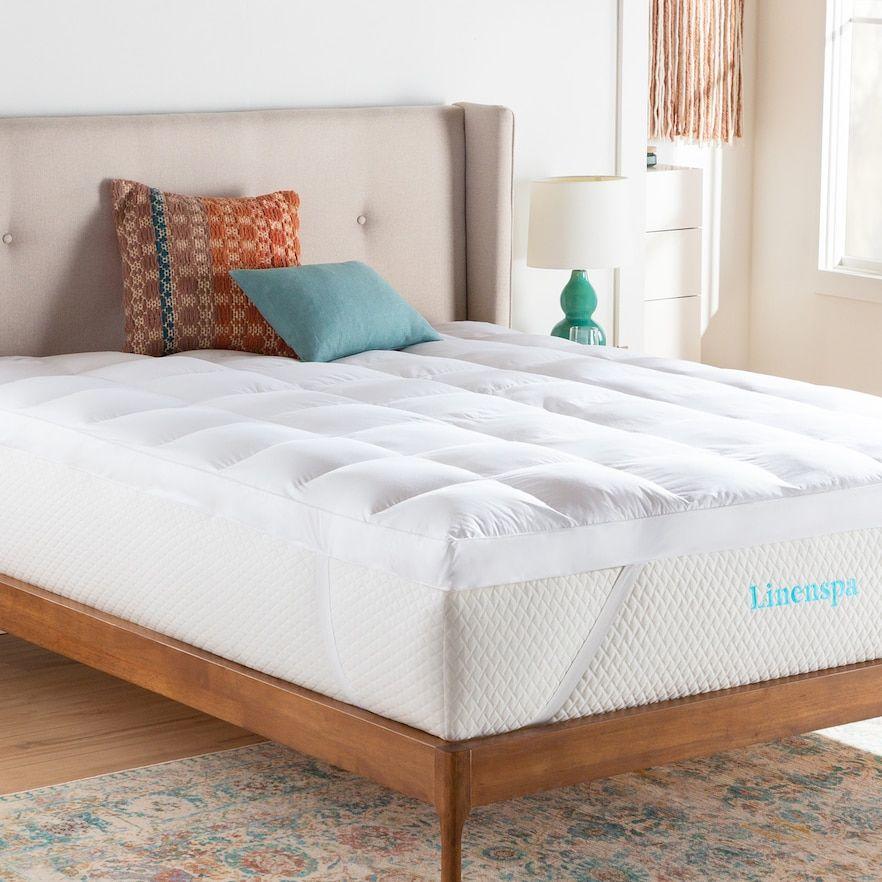 Linenspa Signature 3 In Down Alternative Fiber Bed Mattress