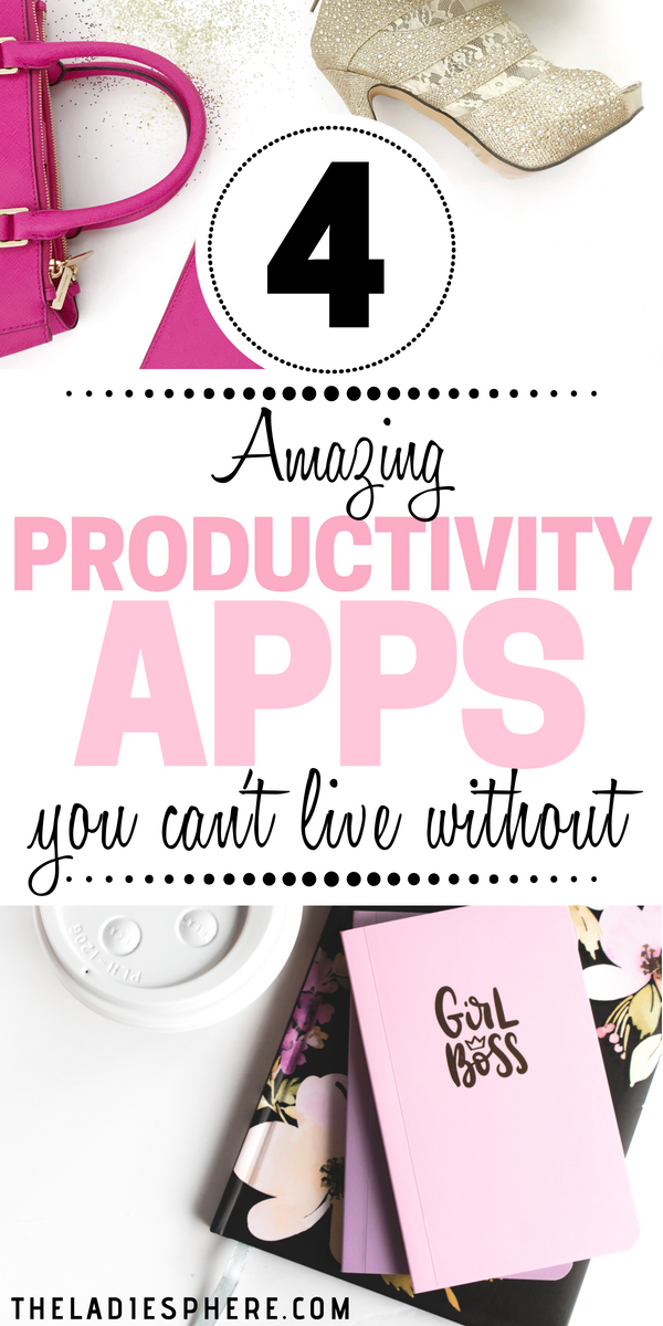 4 Amazing Productivity Apps You Can't Live Without