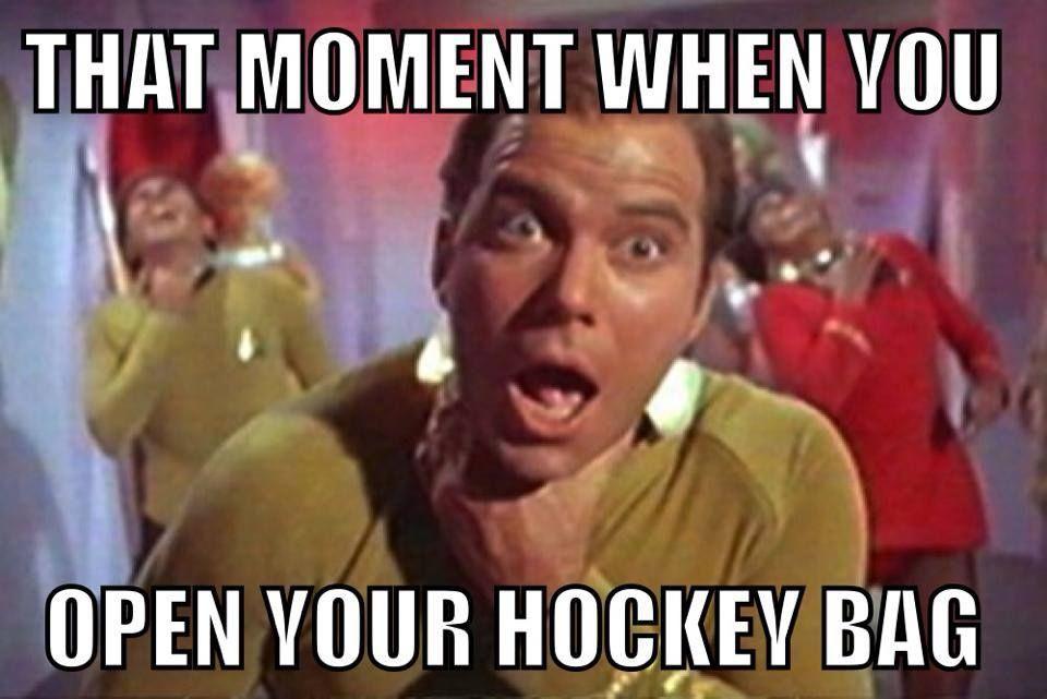 Hockey Smell Star Trek Funny Star Trek Star Trek Original