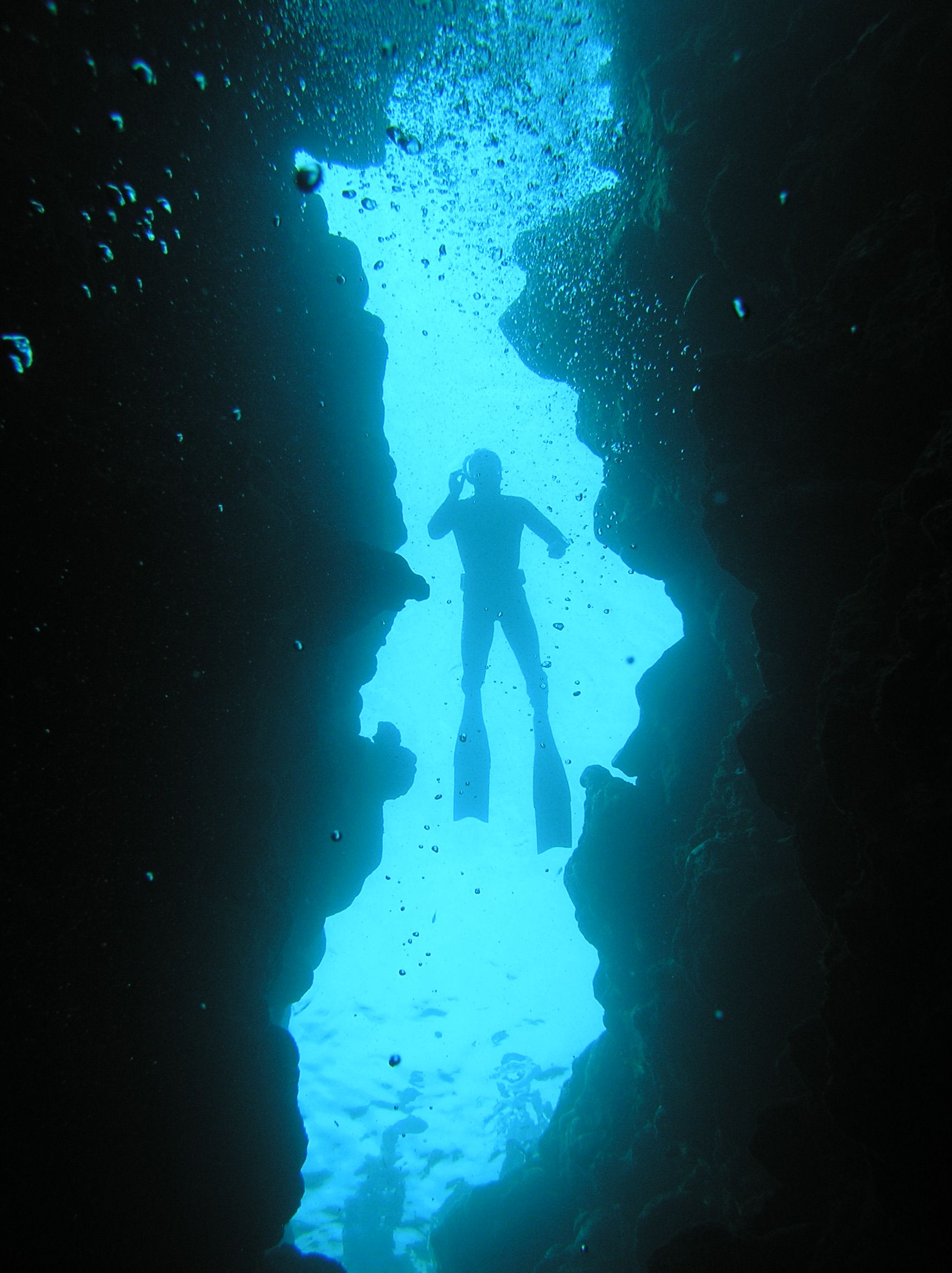 """Blue Hole"" Is A Popular Diving Location On East Sinai, A"