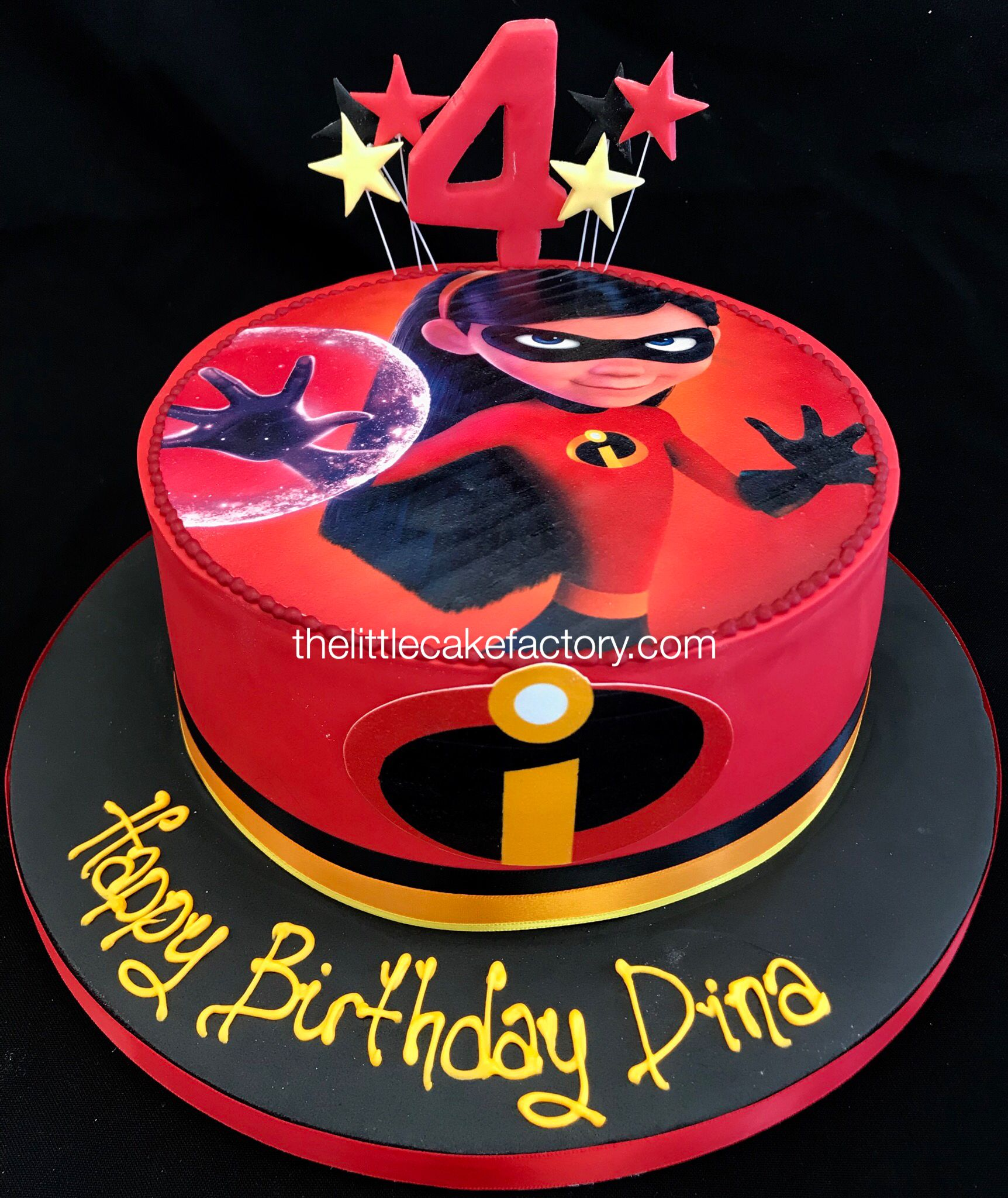 Incredibles Cake Incredibles Birthday Party Birthday Party Cake