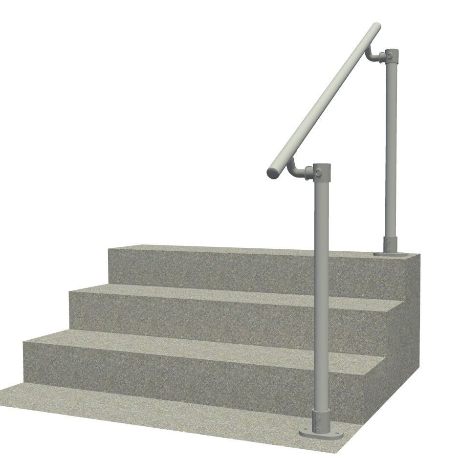 Best Surface 518 Outdoor Stair Railing Easy Install Handrail 400 x 300